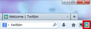 2013 05 03 1655 001 300x97 【ITサービス】FirefoxのサイドバーでTwitterを操作できるアドオン「Twitbin」
