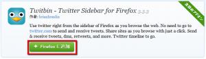 2013 05 03 1721 300x87 【ITサービス】FirefoxのサイドバーでTwitterを操作できるアドオン「Twitbin」