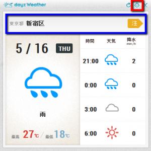 2013 05 16 2006 300x300 【ITサービス】お天気情報を表示するガジェット「DayzWeather for Windows」