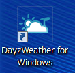2013 05 16 2009 【ITサービス】お天気情報を表示するガジェット「DayzWeather for Windows」