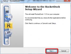 2013 05 17 2227 300x229 【ITサービス】カスタマイズ性に優れたドックランチャー「RocketDock」