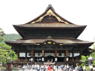 IMG 0075 w400 h250 【旅行】ついにあの有名な善光寺に行く。そして万座温泉日進舘へ。