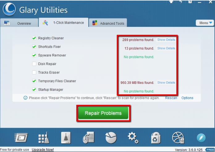 2013 07 10 2312 【ITサービス】PC簡単メンテナンス!「GlaryUtilities(グラリーユーティリティーズ)」の使用方法
