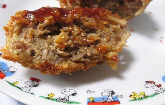 IMG 0303 【食べ物】ウワサどおり!ローソンの「ゲンコツメンチ」がジューシーすぎて超絶美味しすぎる件!!