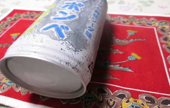 IMG 0378 【食べ物】見た目がガスボンベっぽい!?ファミリーマート限定の「極冷ボンベ」を飲んでみました!