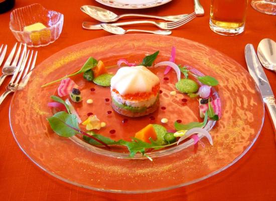 古荘貴司さん、木村充里さん結婚式 披露宴 食事