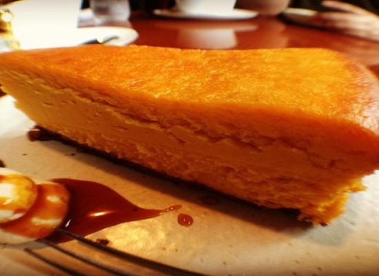 かぼちゃのチーズケーキ #olloclip #fisheye