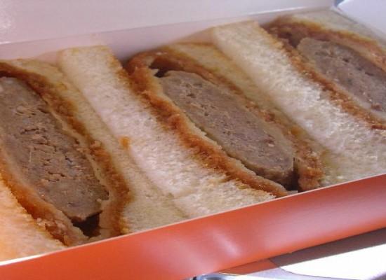 Minced Katsu Sandwich / メンチカツサンド