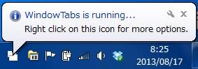 2013 08 17 0825 【ITサービス】アプリケーションをタブ化する便利なソフト「WindowTabs(ウィンドウタブ)」の使い方