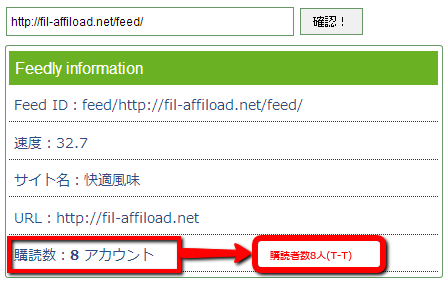 2013 08 28 1900 001 【ITサービス】Feedlyの購読者数を調べる方法。当サイトの購読者数は8名。人気なすぎてワロタw【悲報】
