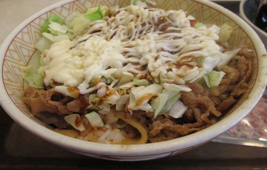 IMG 0462 【食べ物】変わり種だけど以外にアリ?すき家の「お好み牛玉丼」を食べて来ました!