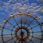OTARU Aquarium - The ferris wheel.