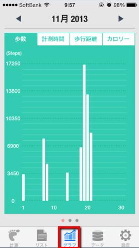 2013 12 13 1011 【万歩計】ウォーキングするならこのアプリ!iPhoneのWalker(ウォーカー)アプリの使い方【ダイエット】
