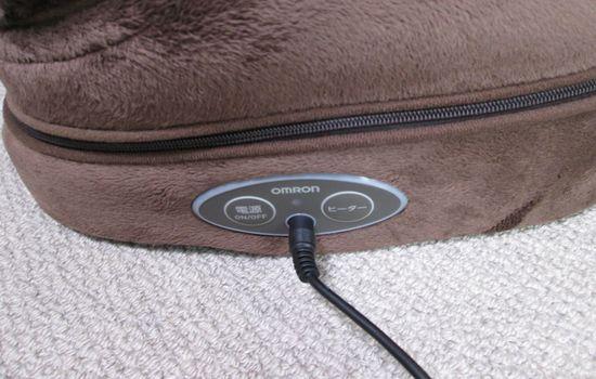 IMG 0952 【レビュー】音も静かで快適に使える!「オムロンフットマッサージャ」はヒーター効果もあって最高です【超おすすめ】