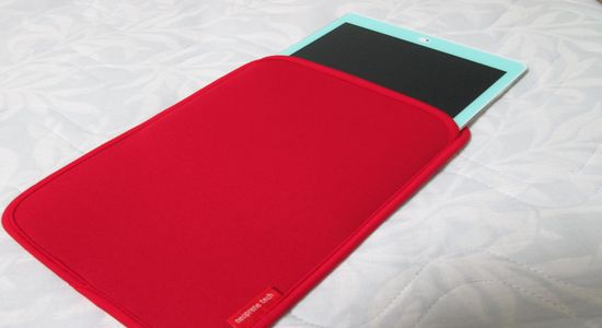 IMG 1247 【iPad】衝撃吸収!iPad Air用のスリップインケースがiPadにジャストフィットしてなかなかいい感じ!