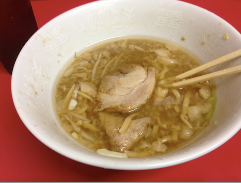 2014 08 31 1329 【食べ物】ラーメン二郎に久しぶりに訪問!麺半分なのに量があまりにも多過ぎてワロタw【千住大橋】
