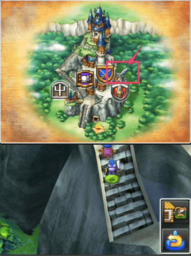 2014 12 14 1138 【スマホ版ドラクエ5】魔法の鍵と魔法のじゅうたんはエルヘブンのどこにあるの?【場所】